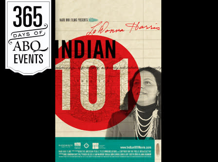 Community Cinema: LaDonna Harris-Indian 101 - VisitAlbuquerque.org