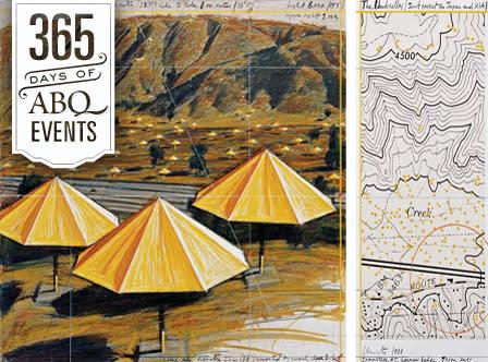 Exhibition: Christo & Jeanne-Claude-The Tom Golden Collection - VisitAlbuquerque.org