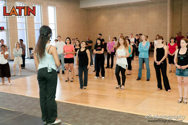 Albuquerque Latin Dance Festival - Dance Class