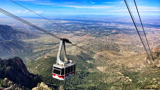 Adrienne Meyer - Sandia Peak Tram