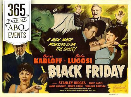 Fright Night at the KiMo: Black Friday - VisitAlbuquerque.org
