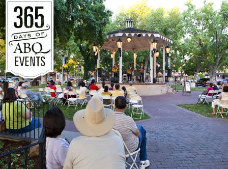 Summertime in Old Town: Squash Blossom Boys - VisitAlbuquerque.org