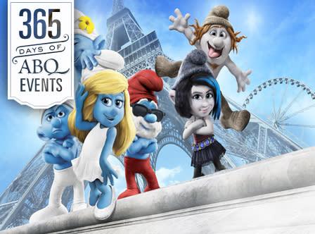 Movies in the Park: Smurfs 2 - VisitAlbuquerque.org