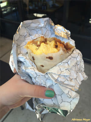 Breakfast Burrito - Adrienne Meyer