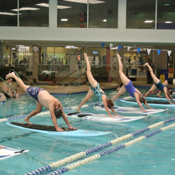 SUP Yoga with SOL Board Sports