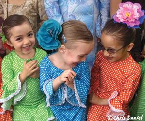Some of flamenco's youngest participants - Photo Credit: Chris Daniel