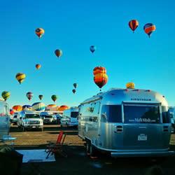 Mali-Mish AirStream at Balloon Fiesta 2013