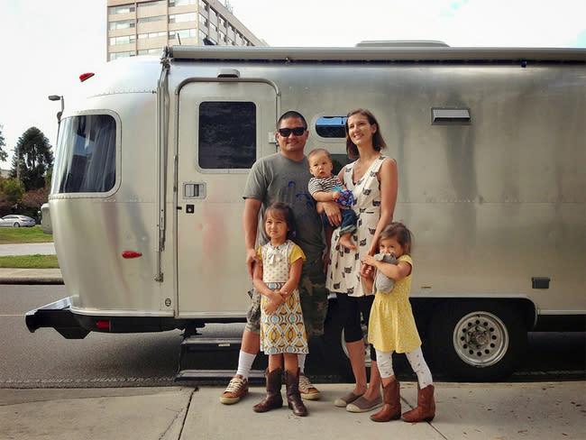 Mali-Mish Family Photo AirStream