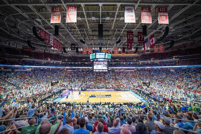 NCAA Basketball crowd