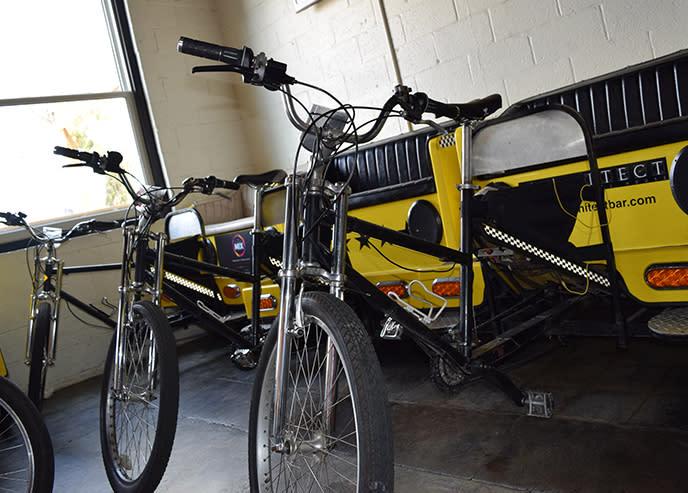 Crank Arm Rickshaw