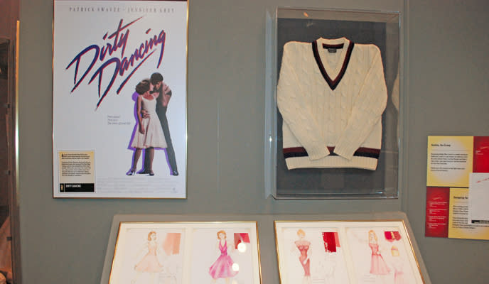 Starrting North Carolina!: Dirty Dancing display