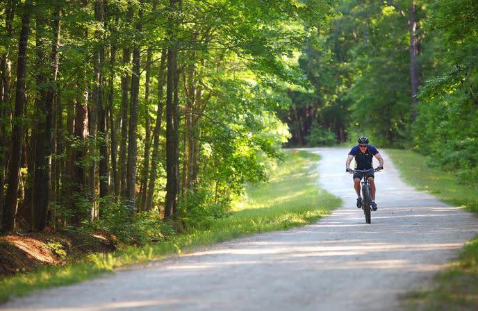 William B. Umstead State Park Biking
