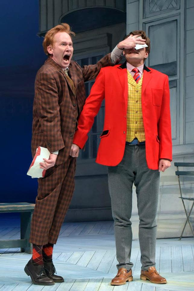 Dan Donohue and William Connell in ?One Man, Two Guvnors