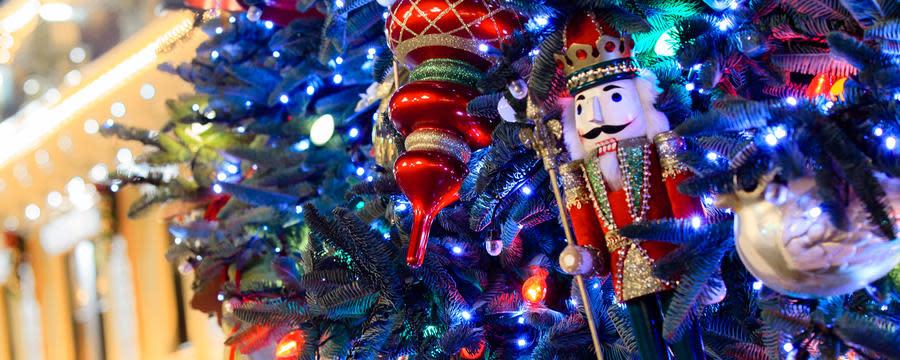 Nutcracker on Christmas Tree