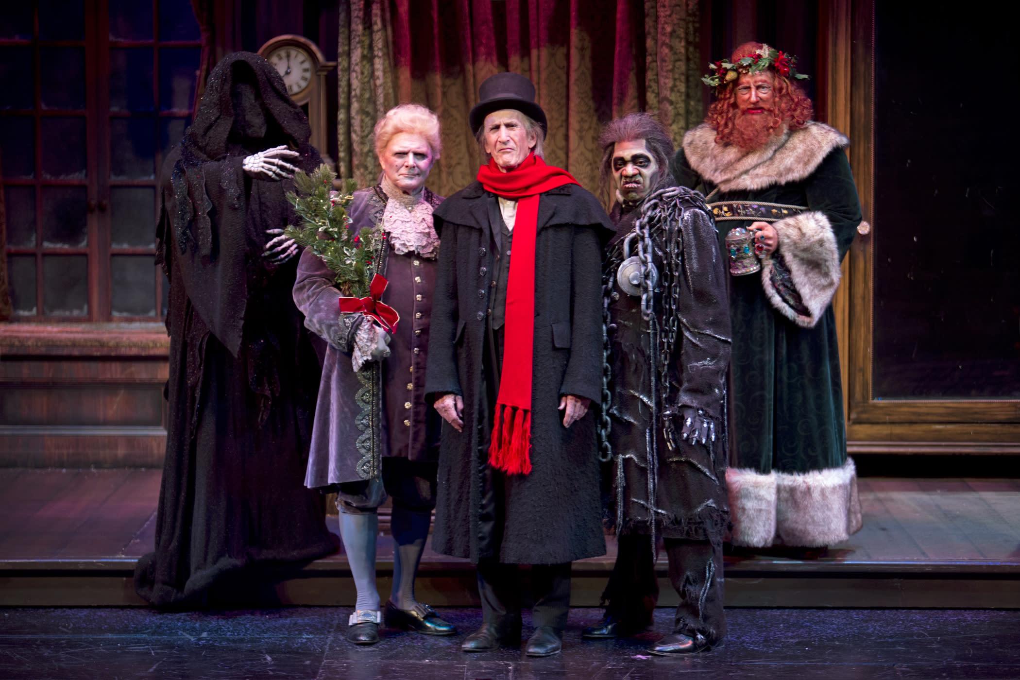 A Christmas Carol Live Play Cast