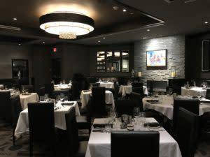 Morton's Restaurant in Saratoga Casino