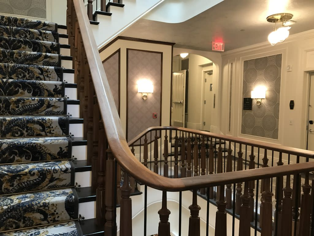 Inside The Adelphi Hotel Saratoga Springs