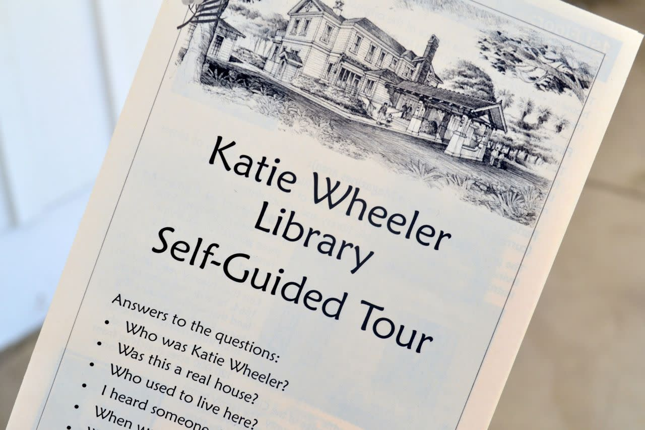 Kate Wheeler Library Self-Guided Tour brochure