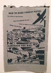 How to make combat paper