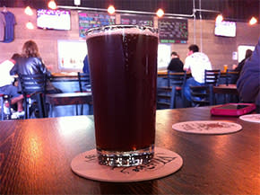 Red Rye'Der at Wildrose Brewing