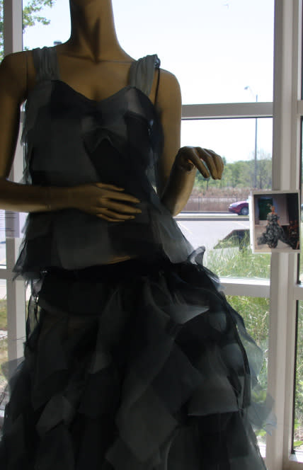 TRASHION 2012 Lauren Lein Wind Gown