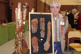 Woodcarvers Show Ron Muskina