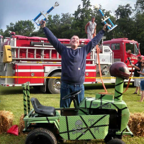 Thad the Lawnmower Derby King