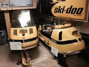 Ski-doo antique snowmobile