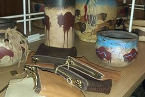 Broken Wagon Bison gift shop - Hobart, Ind.