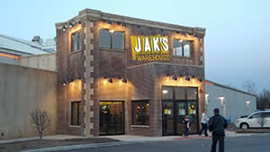 JAK'S Warehouse Exterior