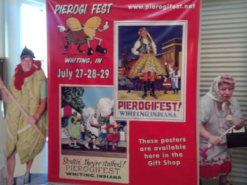 Pierogi Fest® Banner with Bushas Whiting