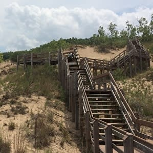 Staircase in the Indiana Dunes