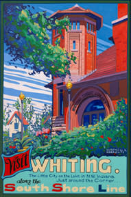 Visit Whiting South Shore Poster