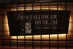 John Dillinger Museum sign
