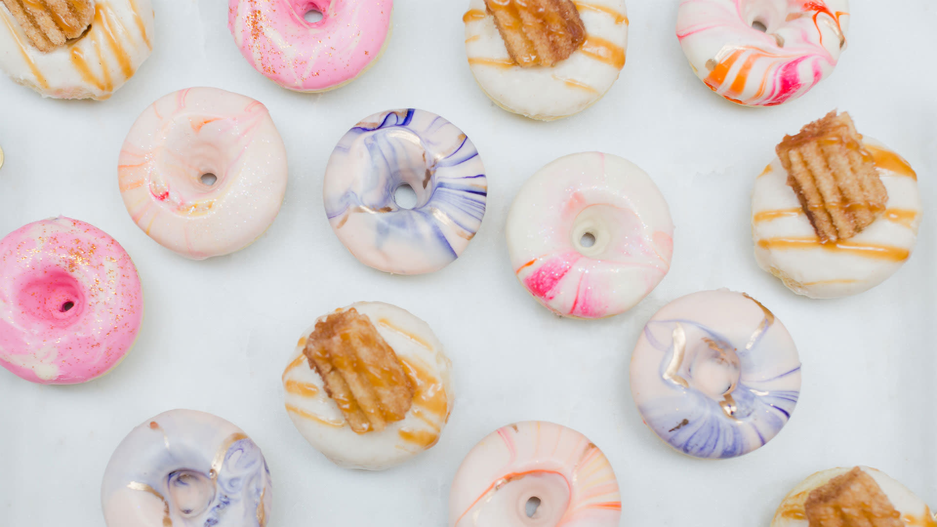 greater palm springs birthday cake donuts