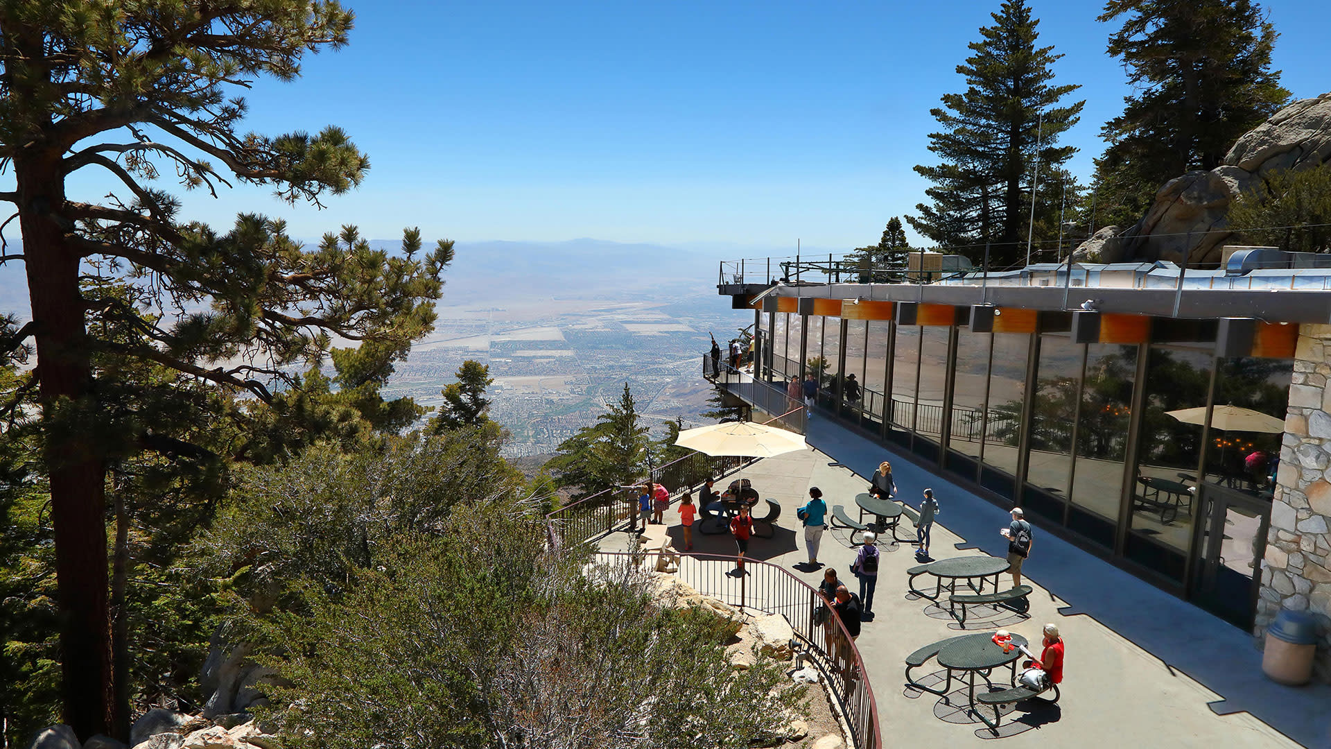 mountain station palm springs aerial tramway