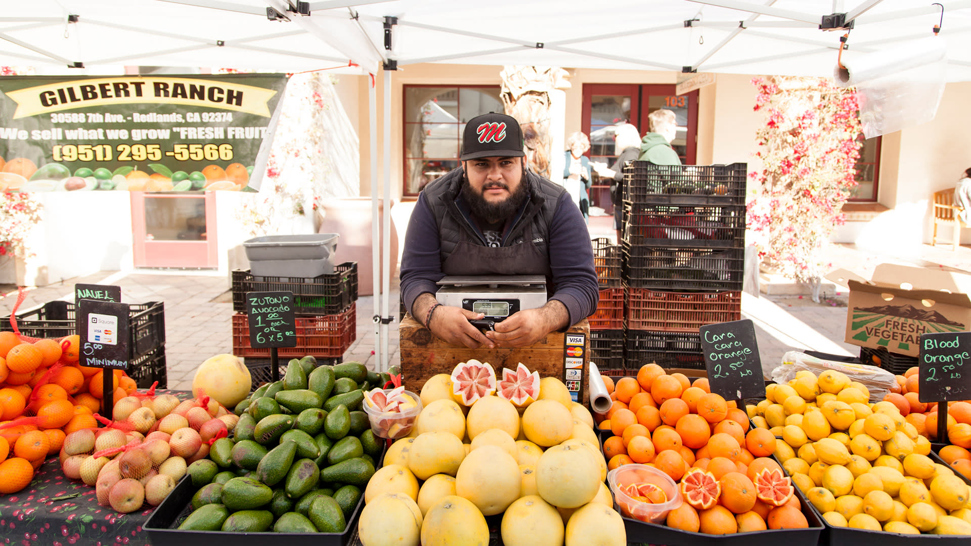 farmers market in greater palm springs