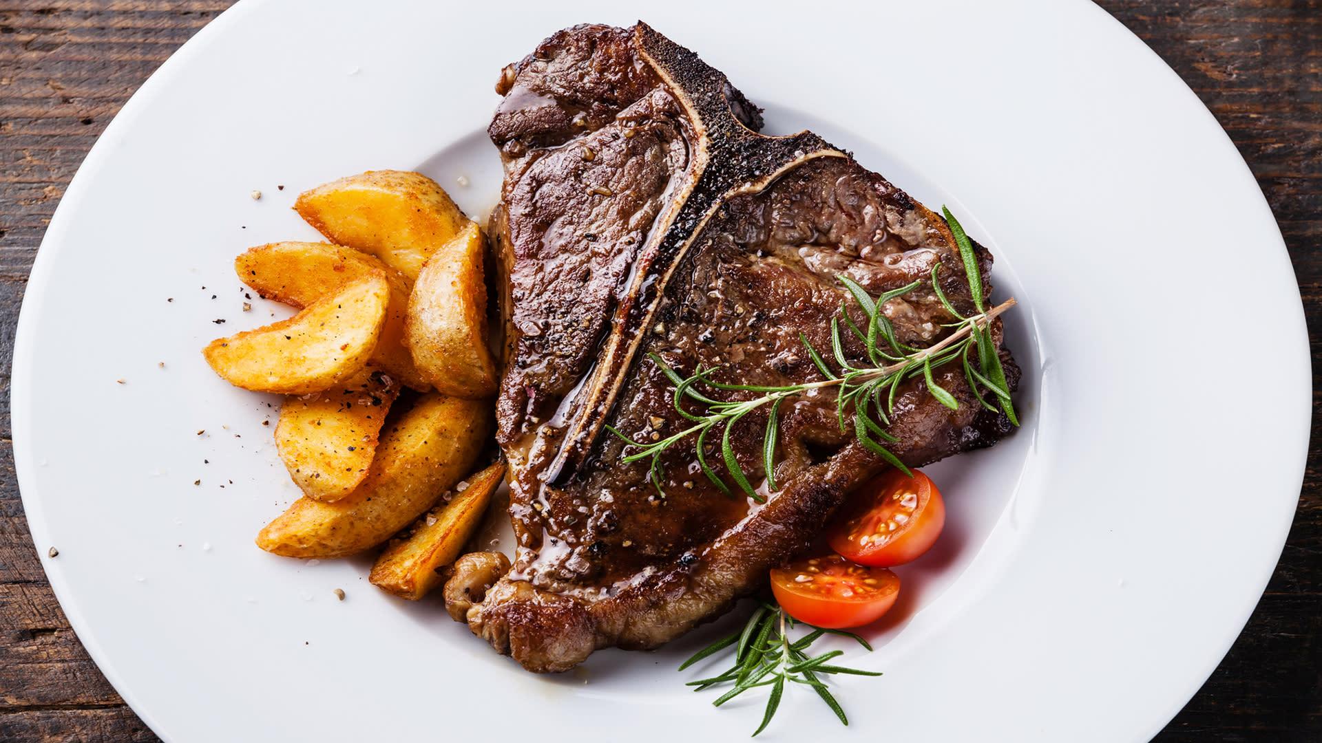 steak dinner in greater palm springs