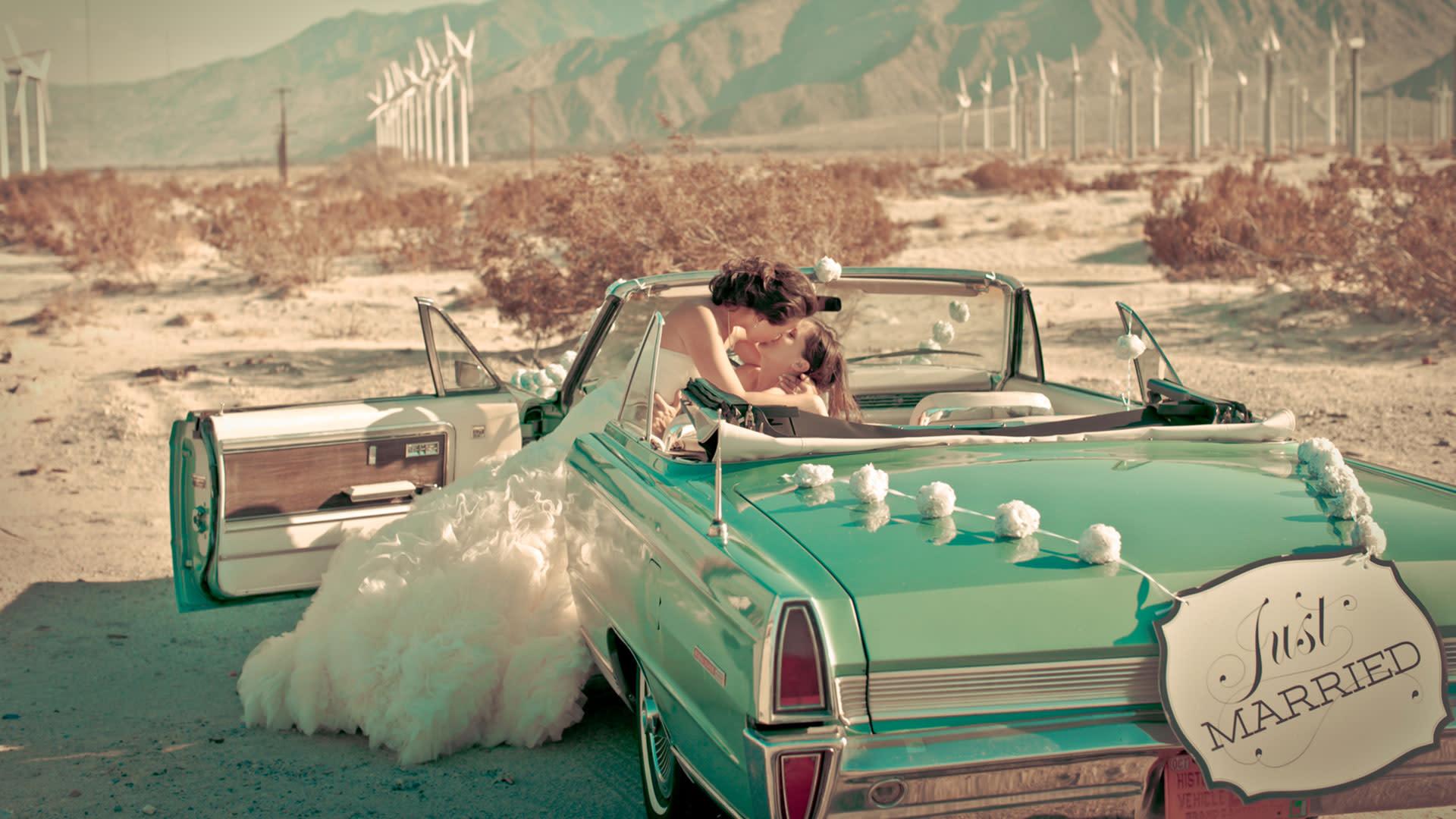 lgbt wedding in palm springs