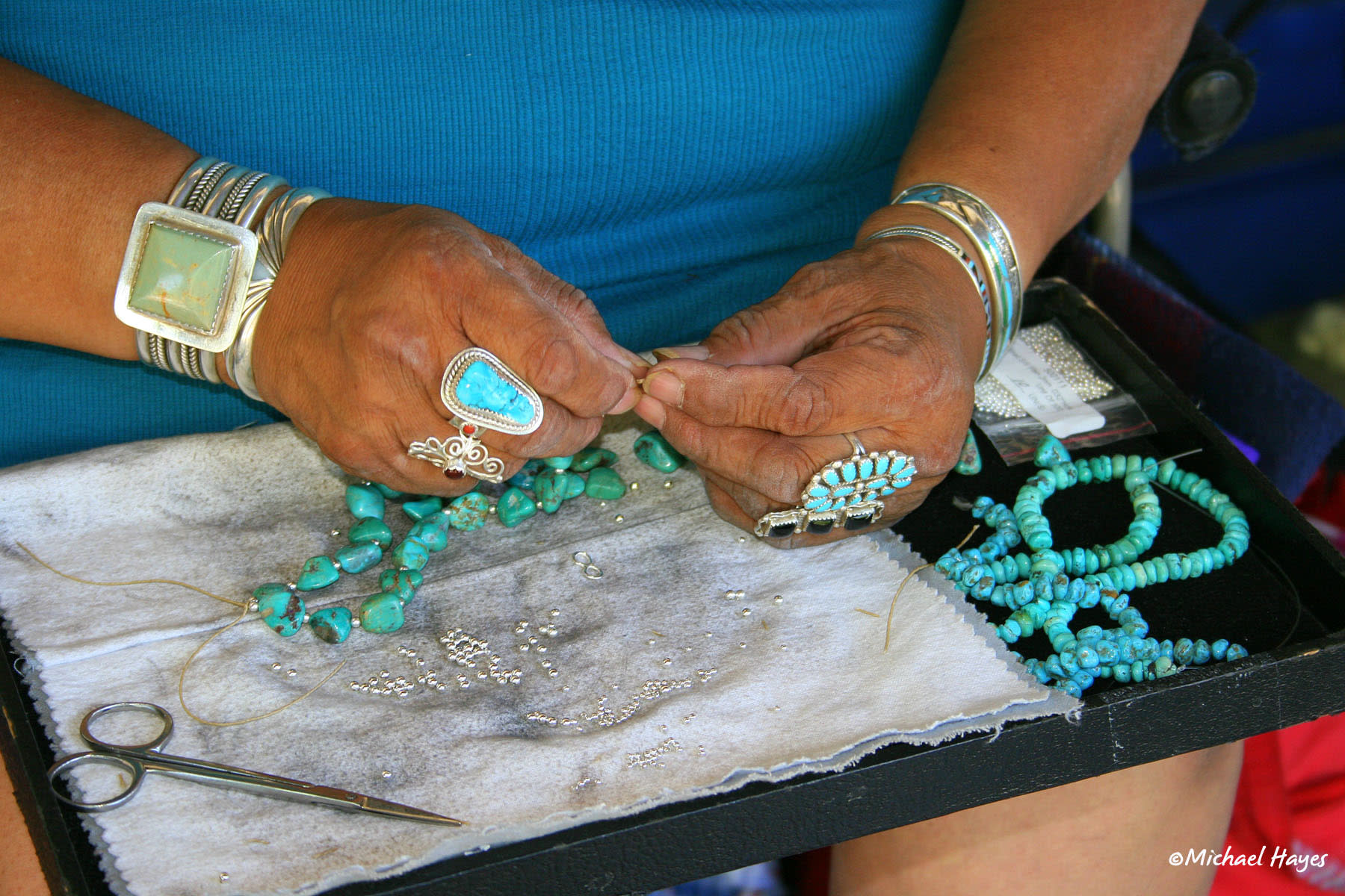 ©Michael Hayes: Turquoise Jewelry