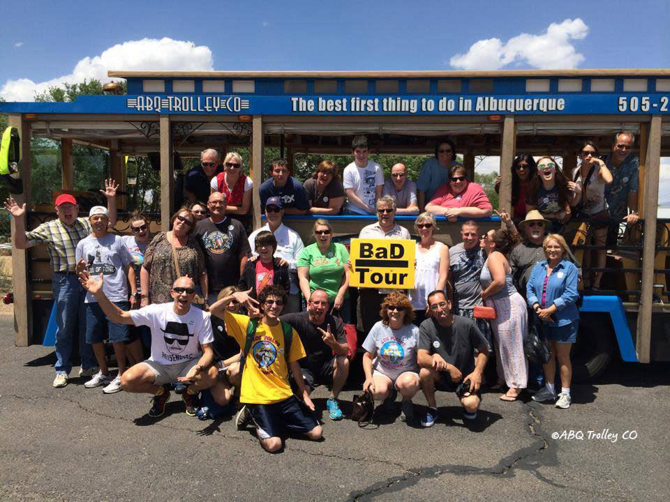 ©ABQ Trolley Co: Breaking Bad Tours