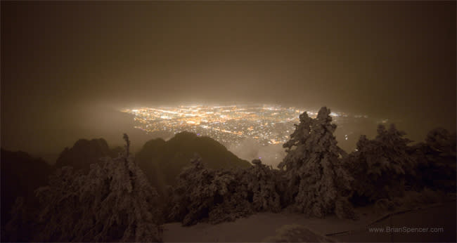 Brian Spencer Photography - Ride up to Sandia Crest in Albuquerque, New Mexico