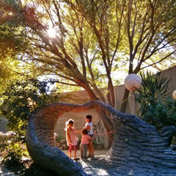 Mali-Mish kids at the ABQ BioPark Botanic Garden
