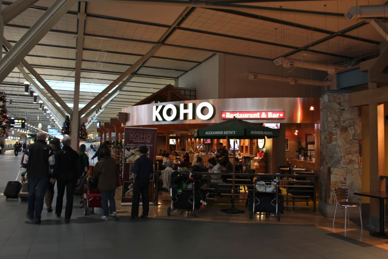 Koho Bar and Grill at YVR