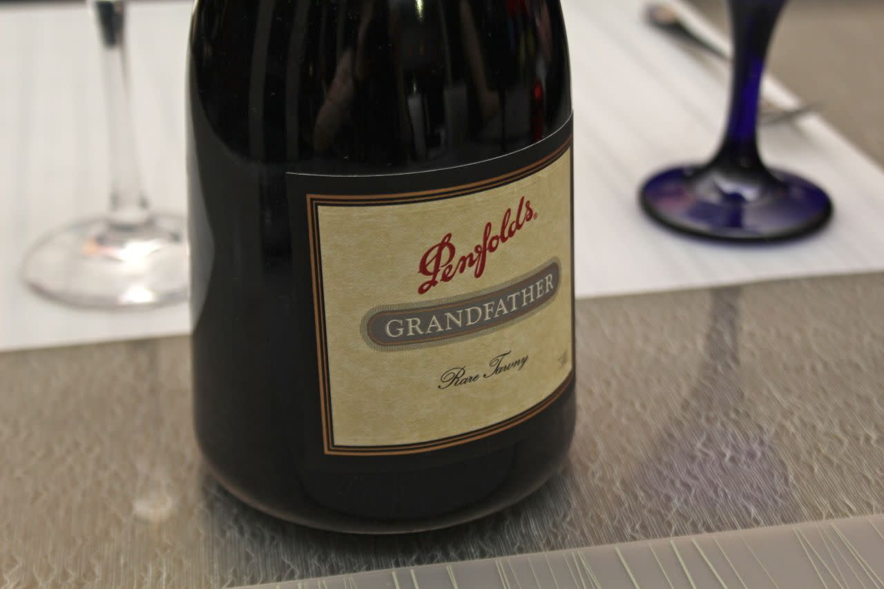 Penfolds Grandfather port at Globe @YVR