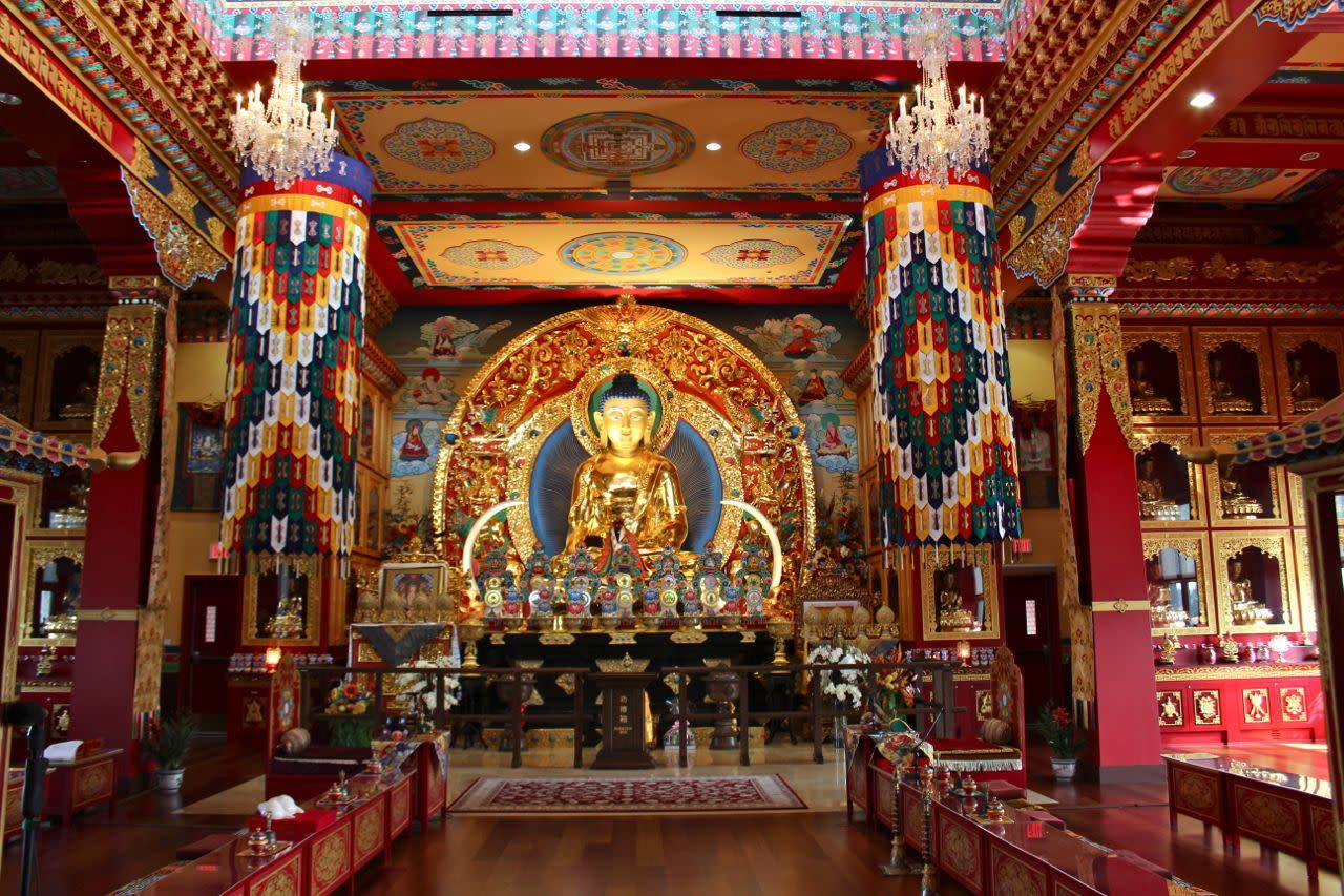 Thrangu Monastery Prayer Hall