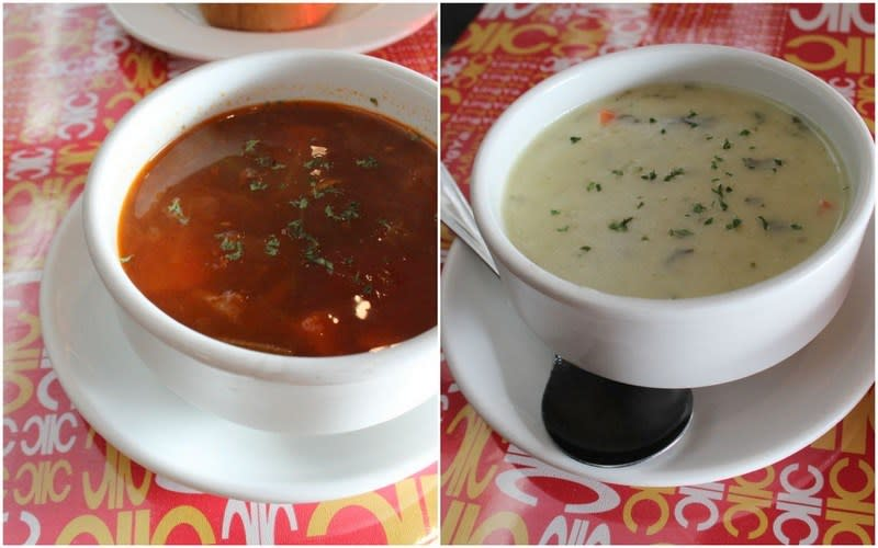 Red House Restaurant soups