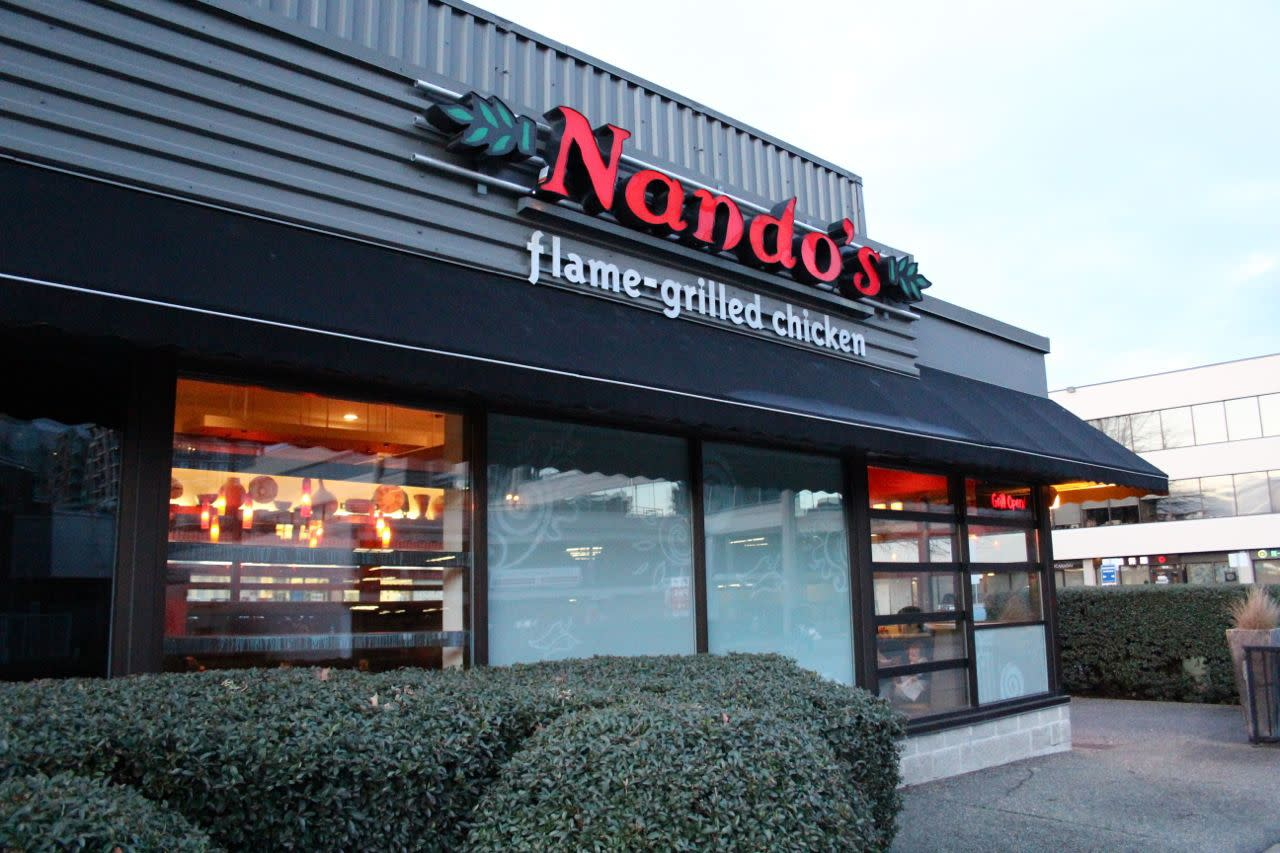 Nando's Richmond exterior