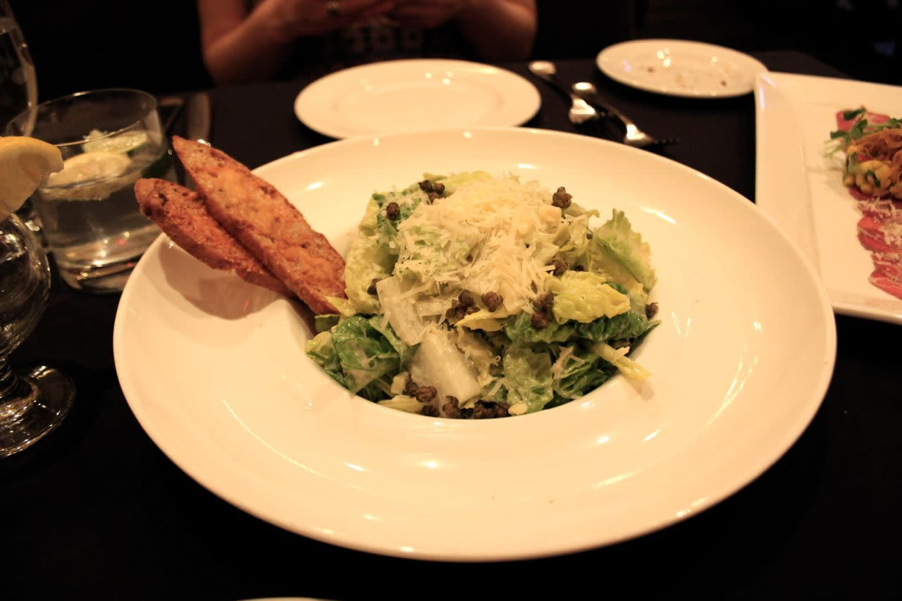 Caesar Salad at Carver's Steakhouse