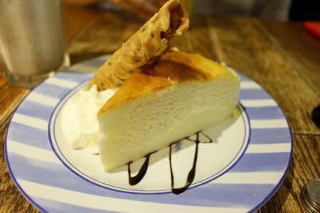 leisure tea - japanese cheesecake